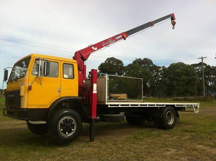 International Acco crane truck Newcastle Area Preview