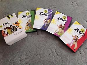 Zumba 4 pack excercise DVD Taylors Lakes Brimbank Area Preview