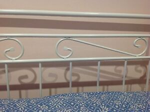 Double bed - iron bed frame Sans Souci Rockdale Area Preview