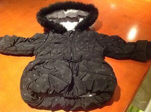 Girls Coat Black Kingston Kingborough Area Preview