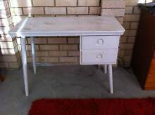 Funky retro timber desk table dresser sewing table good condition Cardiff Lake Macquarie Area Preview