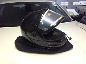 Snow mobile helmets