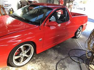 2002 HOLDEN VUII SS UTE 6SP MANUAL Ferntree Gully Knox Area Preview