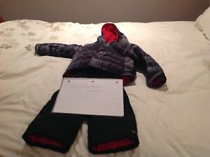 Boys Columbia Snowsuit Size XXS