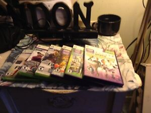 Xbox 360 Kinect with 6games