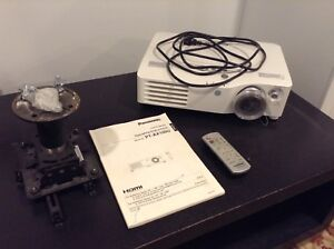 Panasonic Projector with 72 inch screen ($500 OBO)
