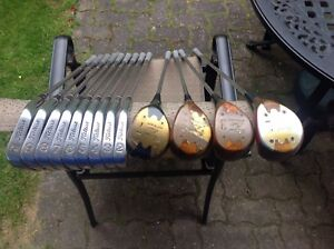 TITLEIST Acushnet AC-108 irons/4 Personal Model Persimmon Woods