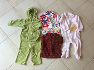 Clothing and items 3 to 12 months