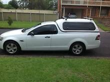 2008 Holden Ute VE Omega Utility with Canopy & Roof Racks North Richmond Hawkesbury Area Preview