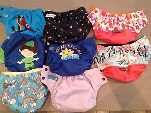 Adorable cloth diapers for sale