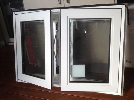 Aluminium double glazed casement window $250