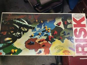 Vintage Risk Board Game Parker Brothers