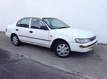 1997 Toyota Corolla Conquest AUTO AUG-REGO Sedan Kirrawee Sutherland Area Preview