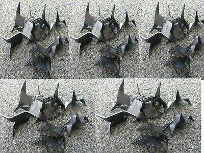 Ninja Sword Sale ((50) Ninja Spikes Caltrops Black Stainless Steel Spikes Tire Puncture FALL)