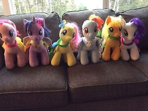 Build-a-Bear My Little Pony Collection