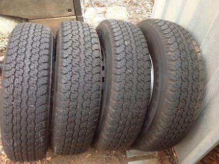 Bridgestone Dueler H/T 205R16 840 tyres X 4 near new