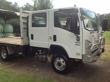 ISUZU 2010 DUAL CAB 4X4 NPS250 TRAY BACK TRUCK Nabiac Great Lakes Area Preview