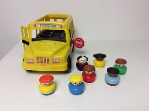 Fisher Price Little People Yellow School Bus