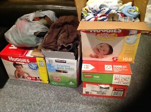 Baby boy clothes - sizes range from 0-3 months up to 9-12 months