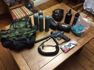 Full Paintball kit - Used Once