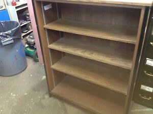 5 shelves, book case