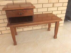 Australian Red Cedar Desk/Seat Caboolture Area Preview