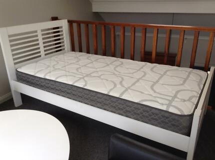 KING SINGLE BED AND MATCHING BEDROOM FURNITURE - AS NEW! Newtown Inner Sydney Preview