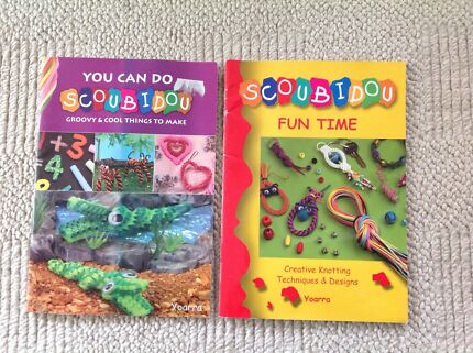 Scoubidou instruction books