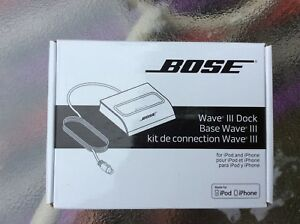 Bose Wave III Dock adds older iPod or iPhone