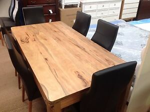 Maretto 20m Solid Marri Dining Table Clearance