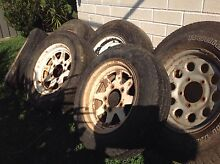 Suzuki Sierra wheels and tyre bit of a mixture free Mooloolah Valley Caloundra Area Preview