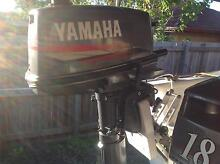 Yamaha  5hp outboard. 2004model. Vgc. Long shaft. Any test. Alexandra Hills Redland Area Preview