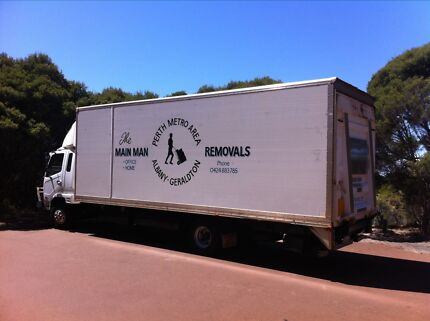 THE MAIN MAN REMOVALS Perth Furniture Removalist