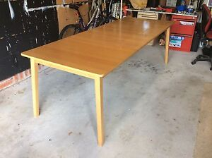 IKEA  extension dining table in beech veneer Mona Vale Pittwater Area Preview