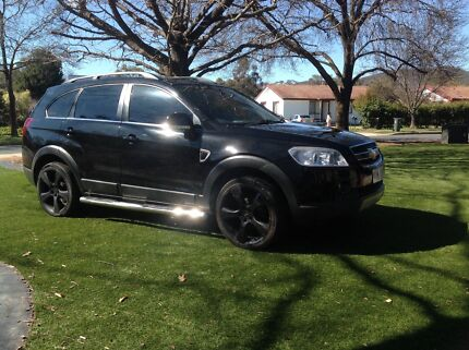 2007 Holden (Chevrolet) Captiva SUV Downer North Canberra Preview