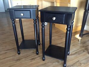 Night stands or end tables