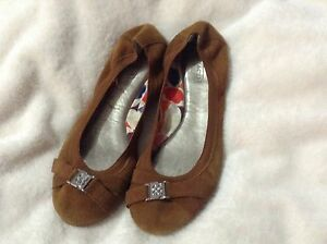 Coach flat shoes very comfortable