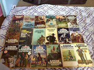 Louis L'amour Books (Classics)