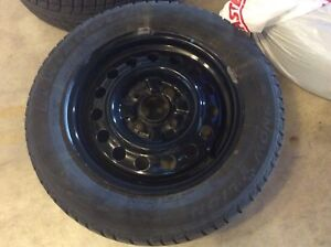 185/65R15 snow tires with rims