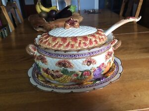 Soup Tureen by Fitz and Floyd