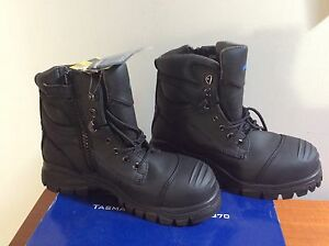 Brand new Blundstone zip ankle steel cap safety boots size 9 AUS Doubleview Stirling Area Preview