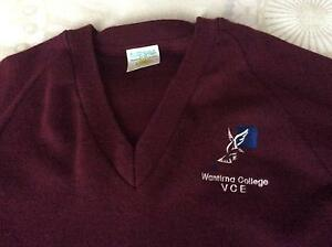 Wantirna S.C VCE woollen jumper. Worn once only Ferntree Gully Knox Area Preview