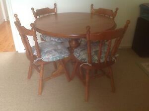 Dining table and chairs Terrey Hills Warringah Area Preview