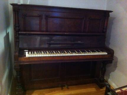 antique piano Mangerton Wollongong Area Preview