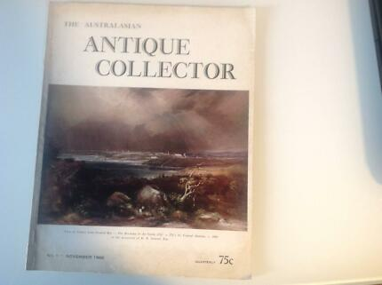 Magazine Australasian Antique Collector