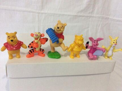 Winnie the Pooh toy figurines