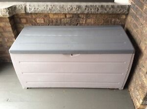 Used Black & Decker storage deck box