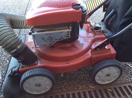 Leaf vacuum & mulcher