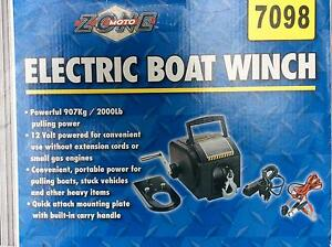 Electric boat trailer winch Thorneside Redland Area Preview