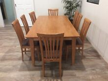 9 Piece Baltic Pine Dining Suite Connolly Joondalup Area Preview